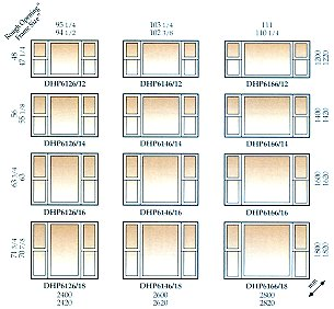 Baypicturesizes for Window sizes for homes