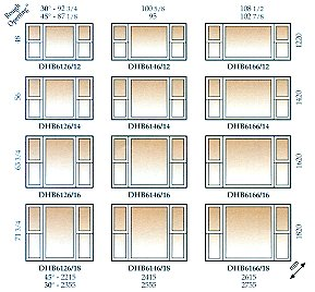 Standard Size Double Hung Windows Tcworks Org