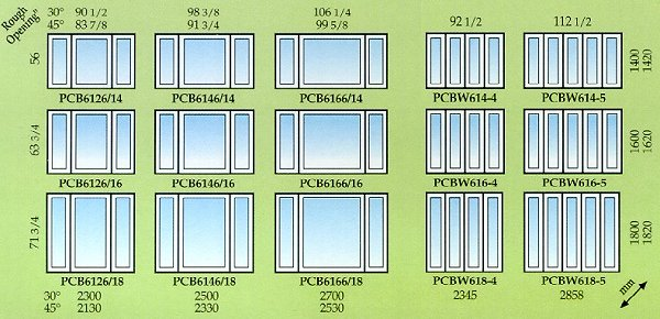 Bay Windows Sizes : Bay window vs bow