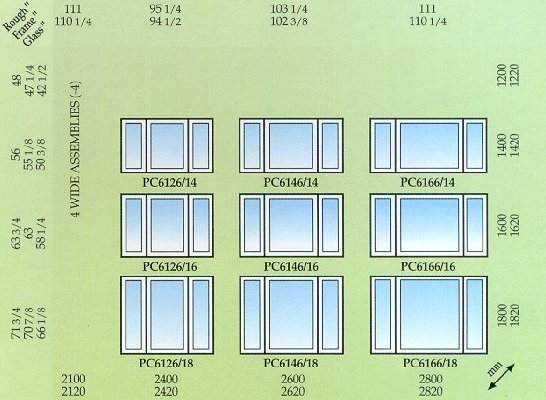 Vinyl windows vinyl window sizes for Window height